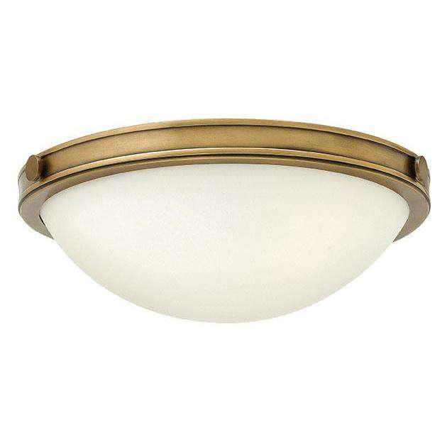 Foyer Maxwell Heritage Brass LED
