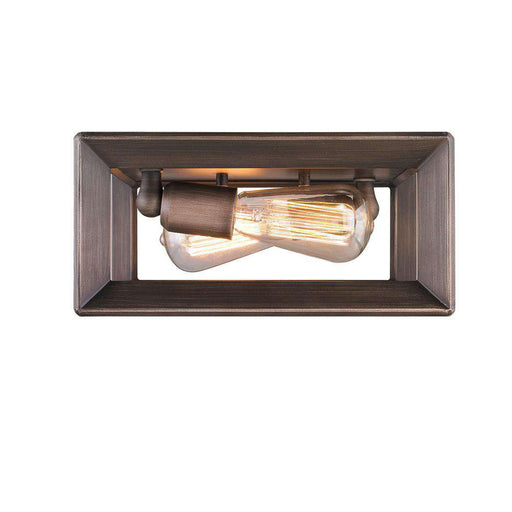 Smyth Flush Mount in Gunmetal Bronze