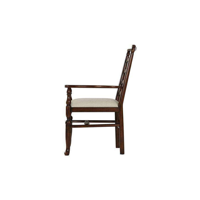 Carnforth Armchair Oatmeal - Set of 2