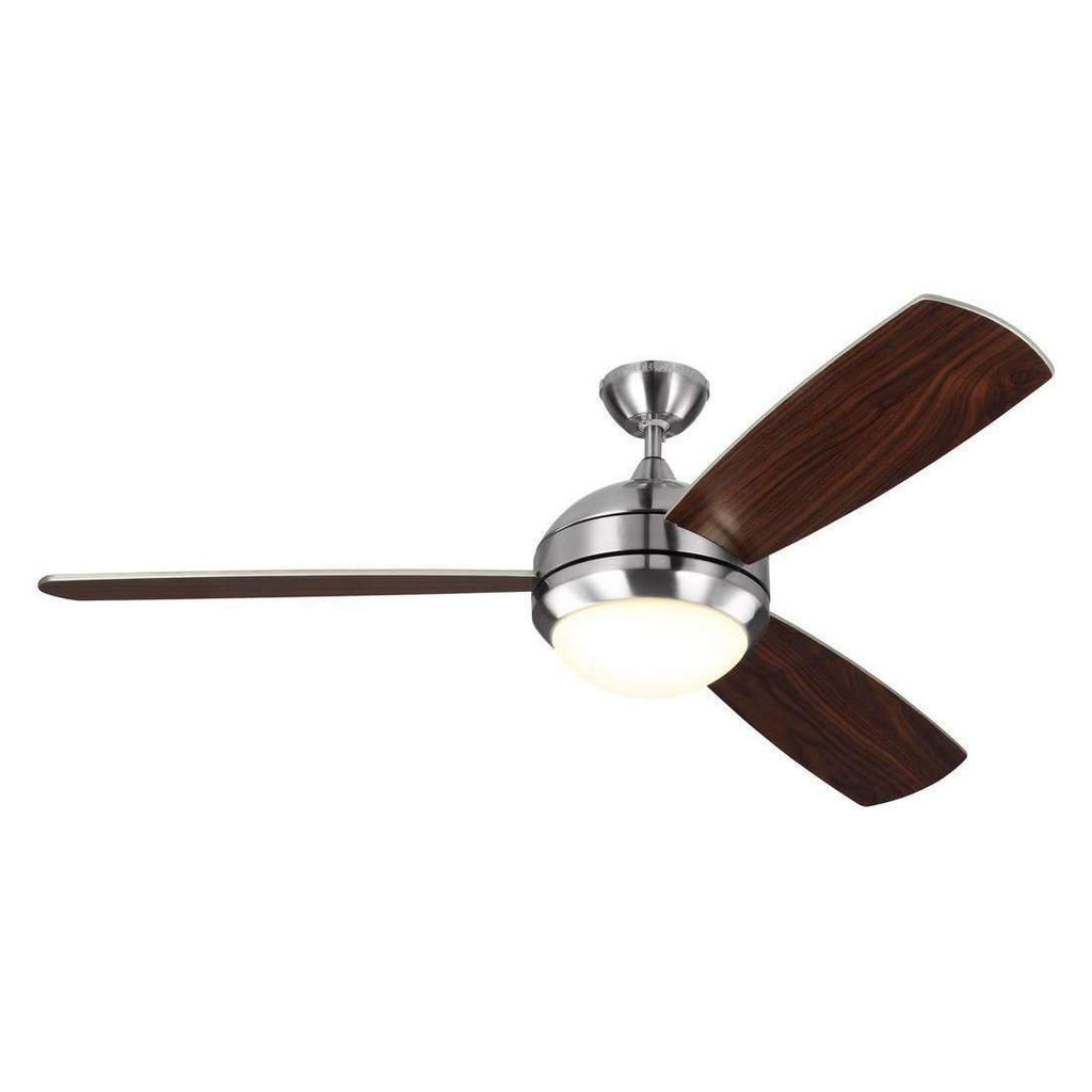 "58"" Discus Trio Max - Brushed Steel Fan"