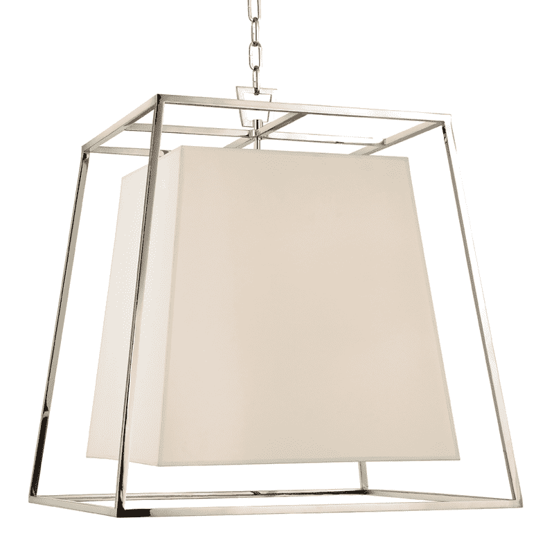 Kyle 6 Light Chandelier Polished Nickel