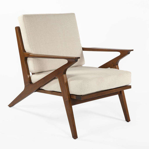 Perfect Mid Century Modern Reproduction Mid Century Z Lounge Chair   Beige Inspired  By Poul Jensen ...