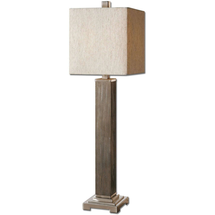 Uttermost Sandberg Wood Buffet Lamp