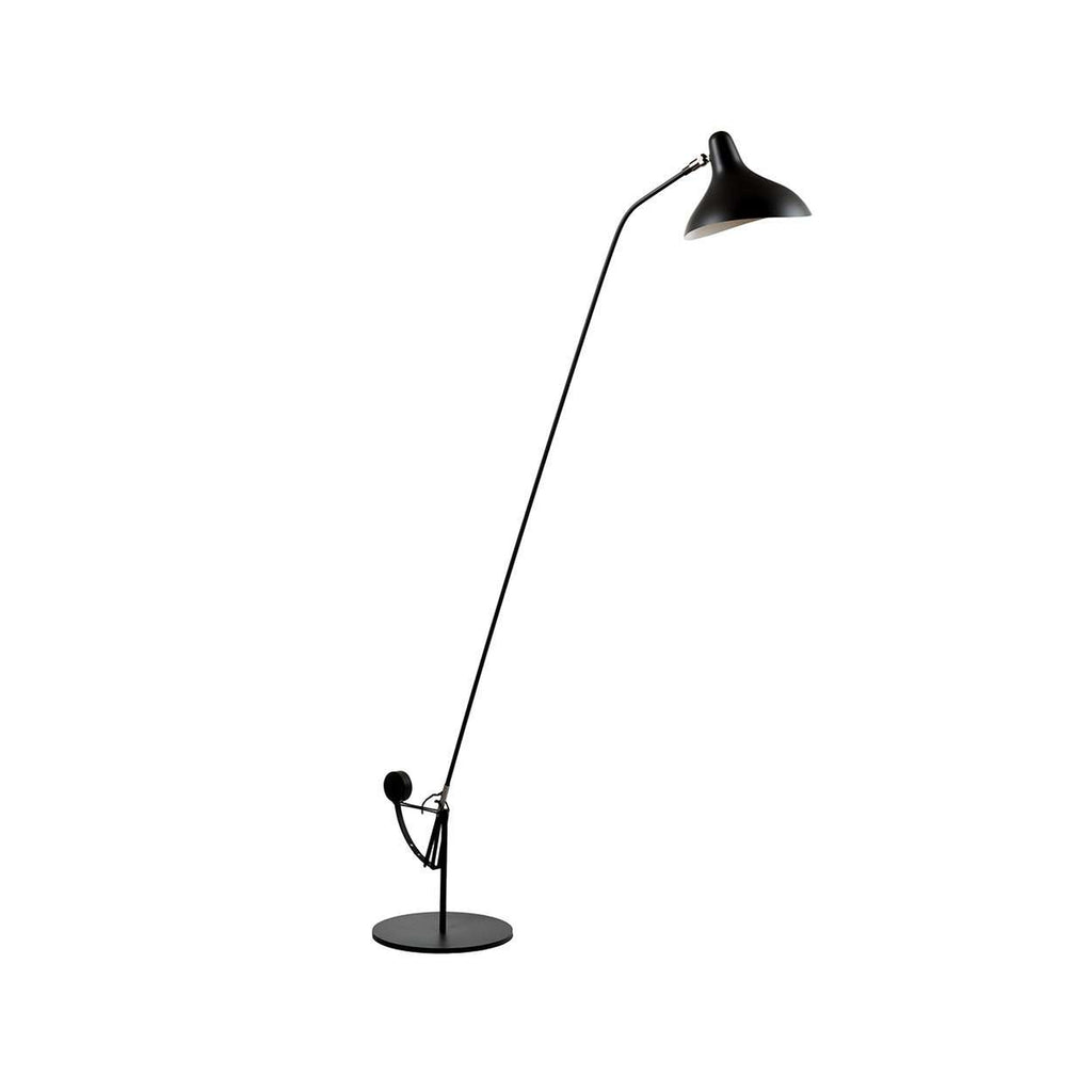 Mantis BS1 Floor Lamp - Black with Round Base