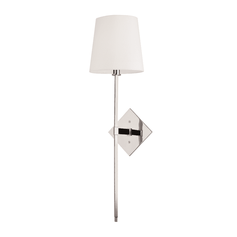 Cortland 1 Light Wall Sconce Polished Nickel
