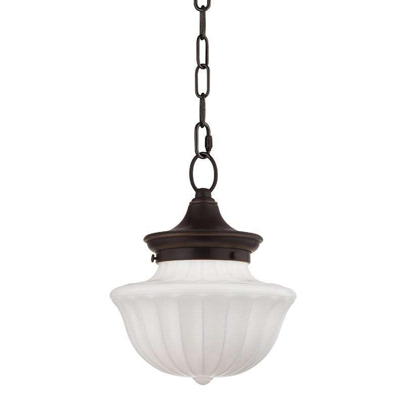 Dutchess 1 Light Small Pendant Old Bronze