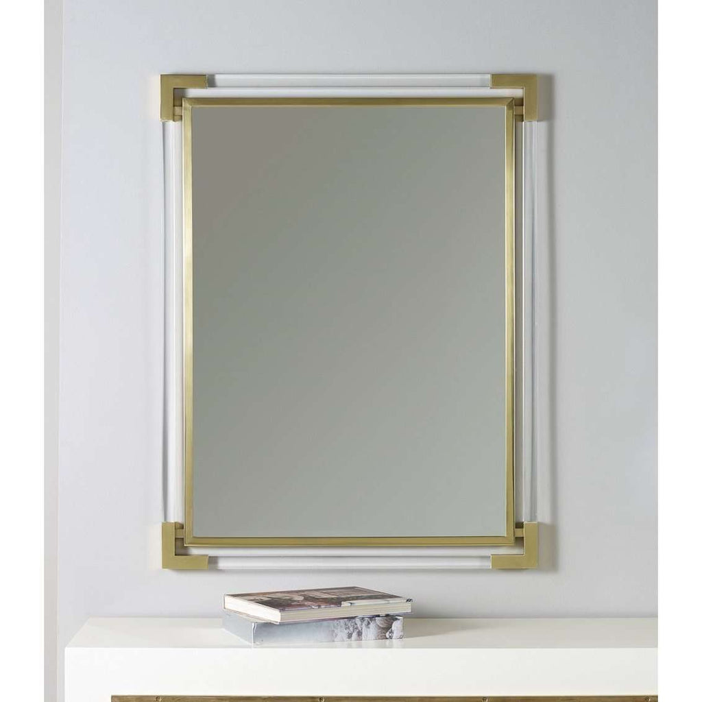 Brass Mirror With Plexi