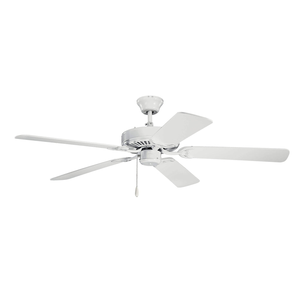 52 Inch Kichler Basics Fan - White