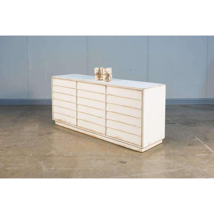 Louvered Cabinet  White
