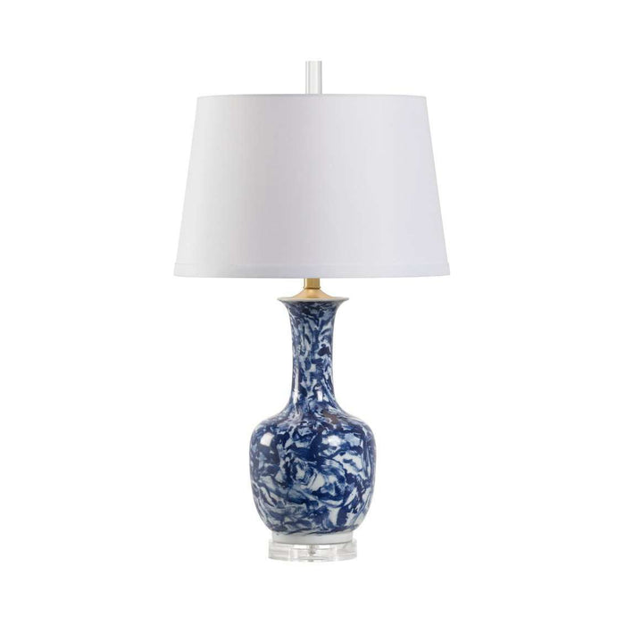 Blue Belle Lamp