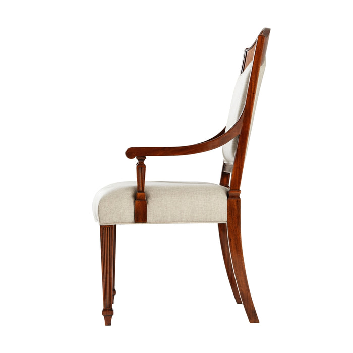 Sheraton's Satinwood Armchair - Set of 2