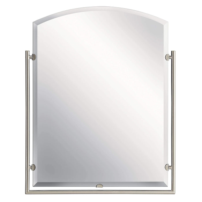 Structures Mirror - Brushed Nickel