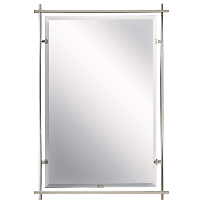 Eileen Mirror - Brushed Nickel