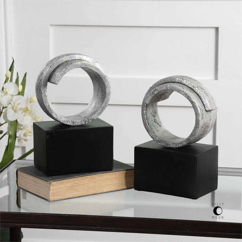 Twist Bookends