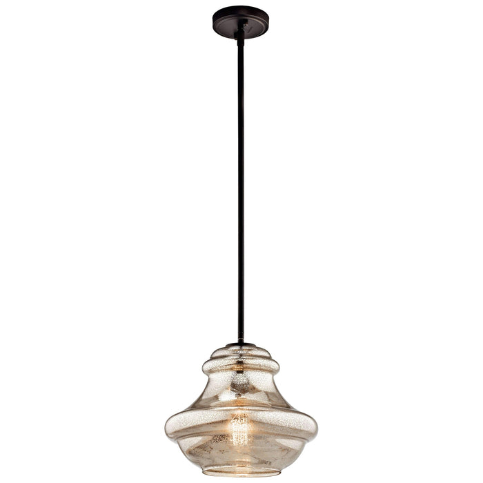 Everly Pendant 1 Light - Olde Bronze