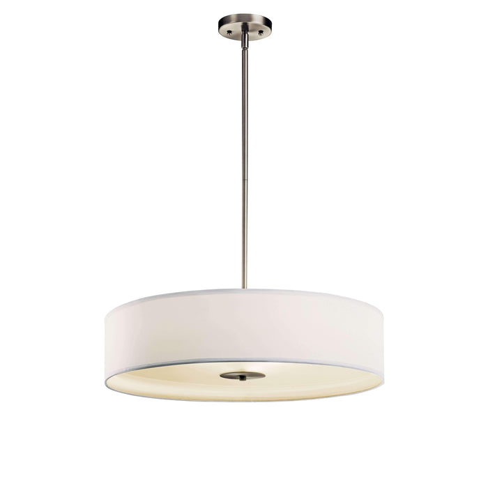 Pendant/Semi Flush 3 Light - Brushed Nickel