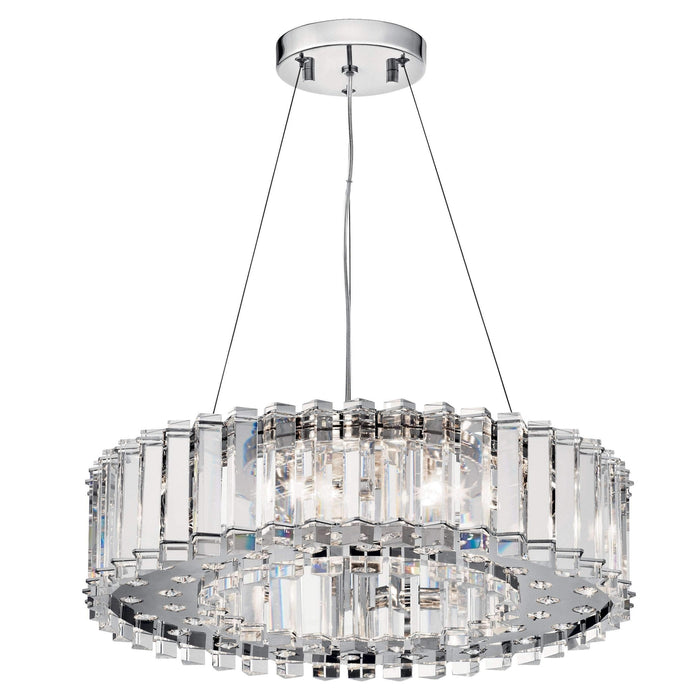 Crystal Skye Pendant 8 Light Halogen - Chrome