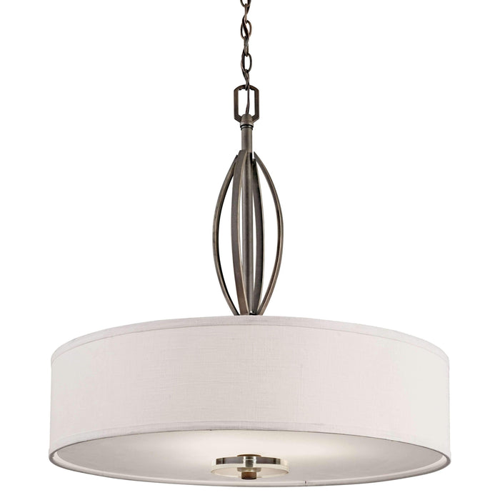 Leighton Pendant 3 Light - Olde Bronze