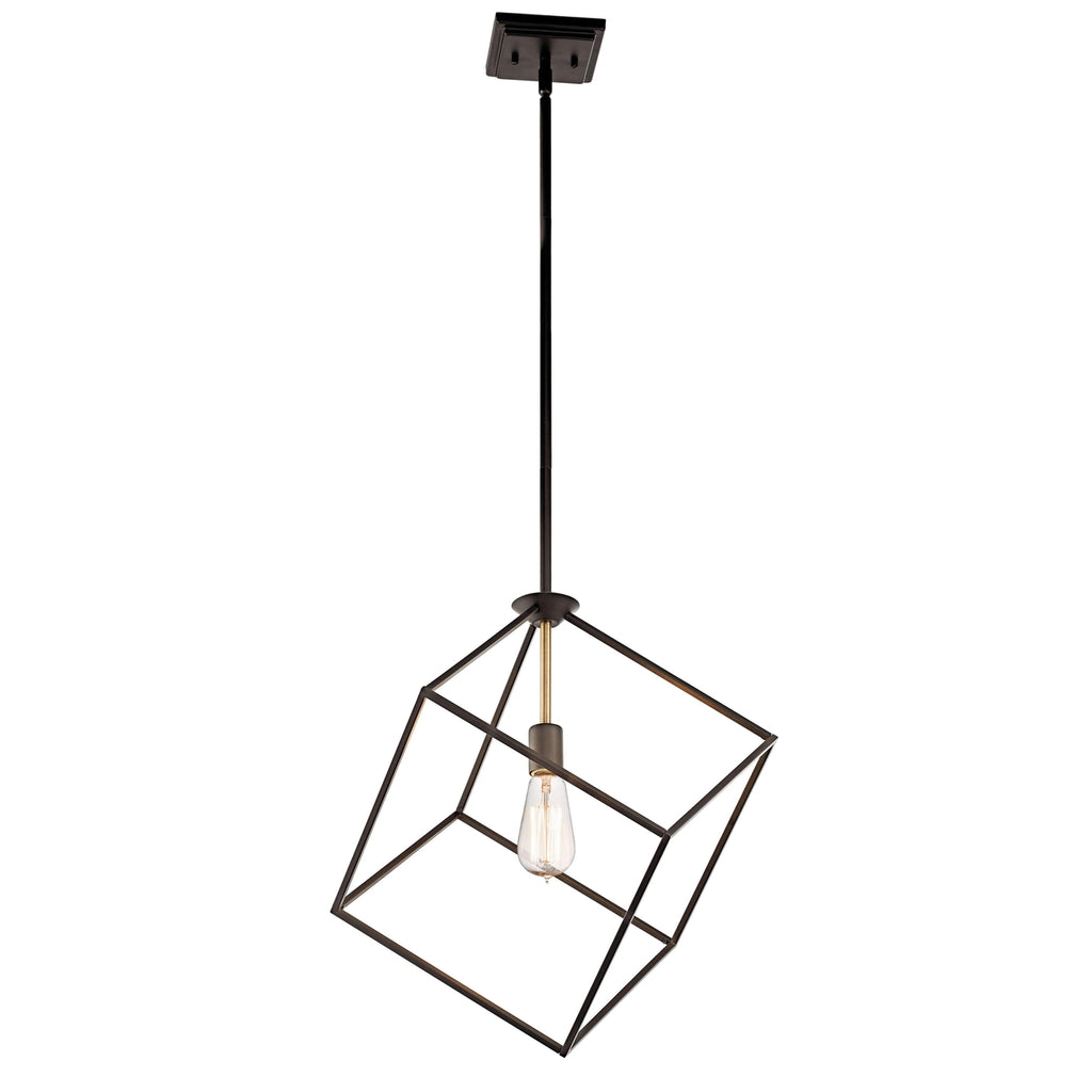 Cartone Pendant 1 Light - Olde Bronze