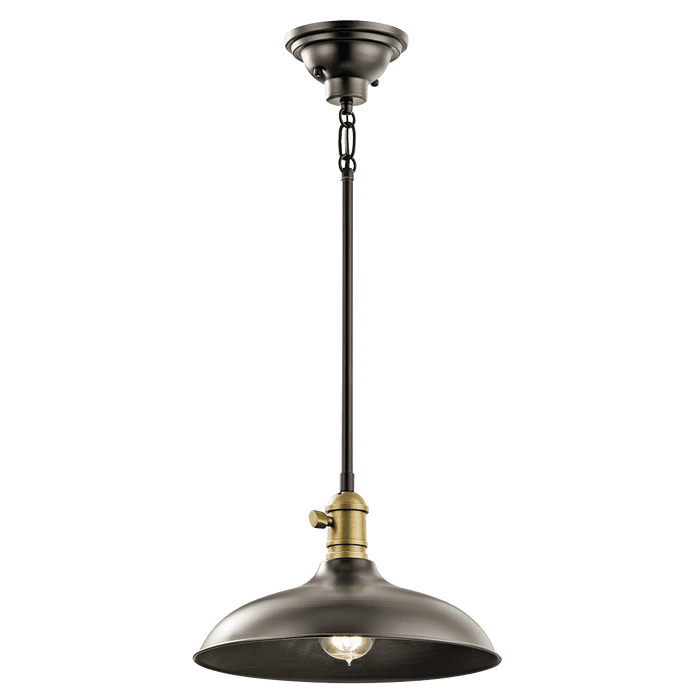 Cobson Pendant/Semi Flush 1 Light - Olde Bronze