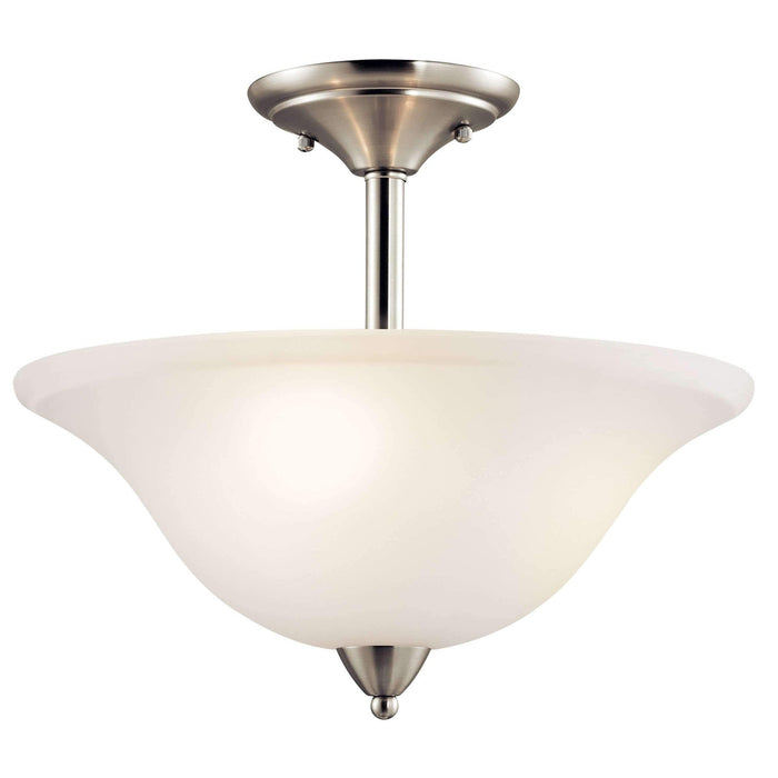 Nicholson Semi Flush 3 Light - Brushed Nickel
