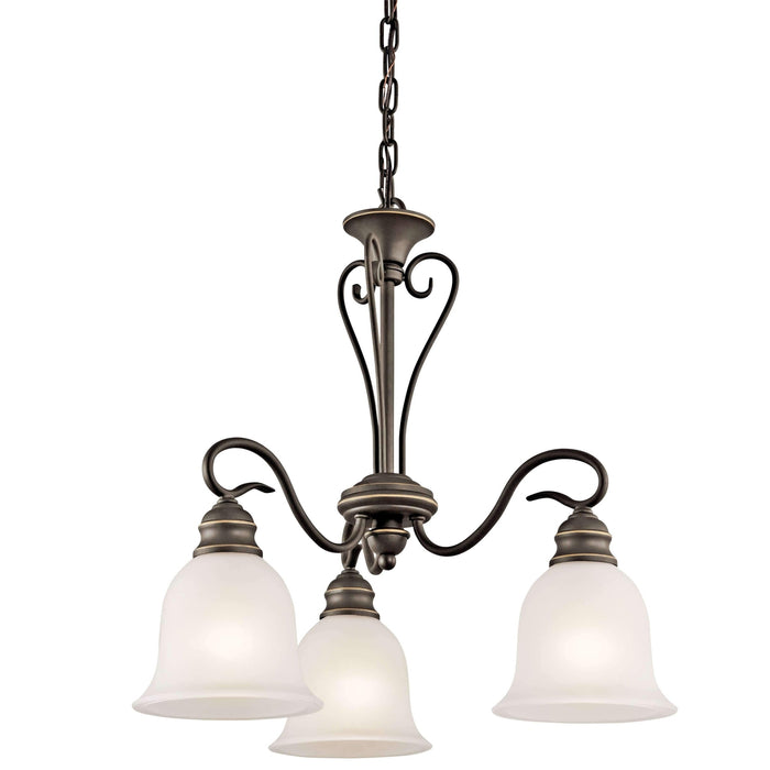 Tanglewood Chandelier 3 Light - Olde Bronze