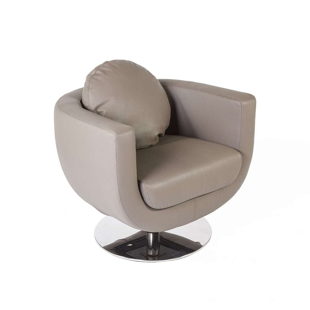Modern Omgang Lounge Chair - Taupe