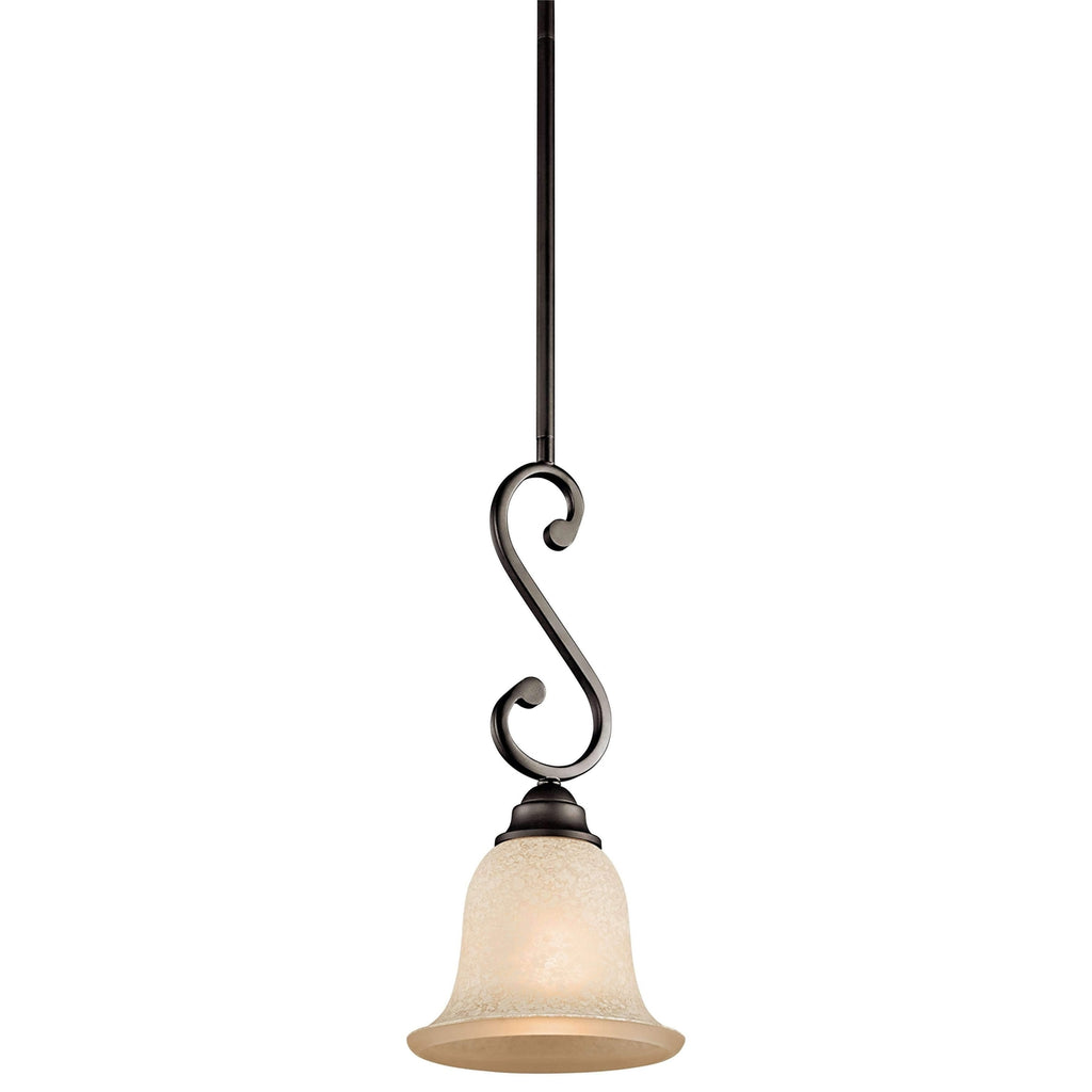 Camerena Mini Pendant 1 Light - Olde Bronze