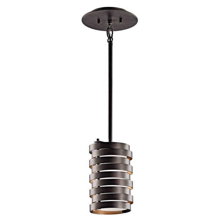 Roswell Mini Pendant 1 Light - Olde Bronze
