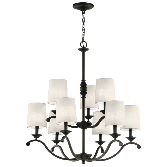 Versailles Chandelier 9 Light - Olde Bronze