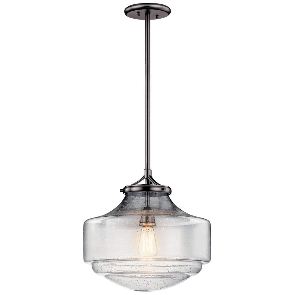 Keller Pendant 1 Light - Shadow Nickel