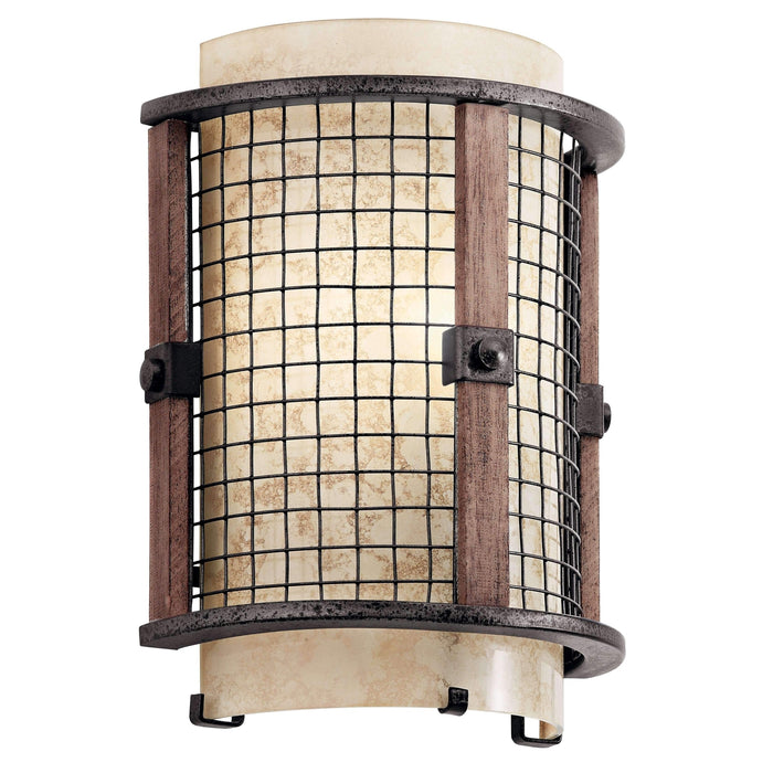 Ahrendale Wall Sconce 1 Light - Anvil Iron