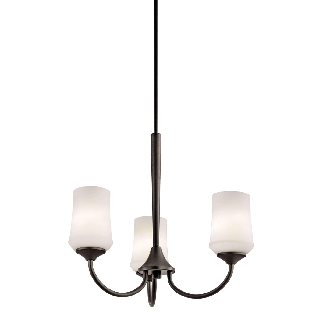 Aubrey Chandelier 3 Light - Olde Bronze