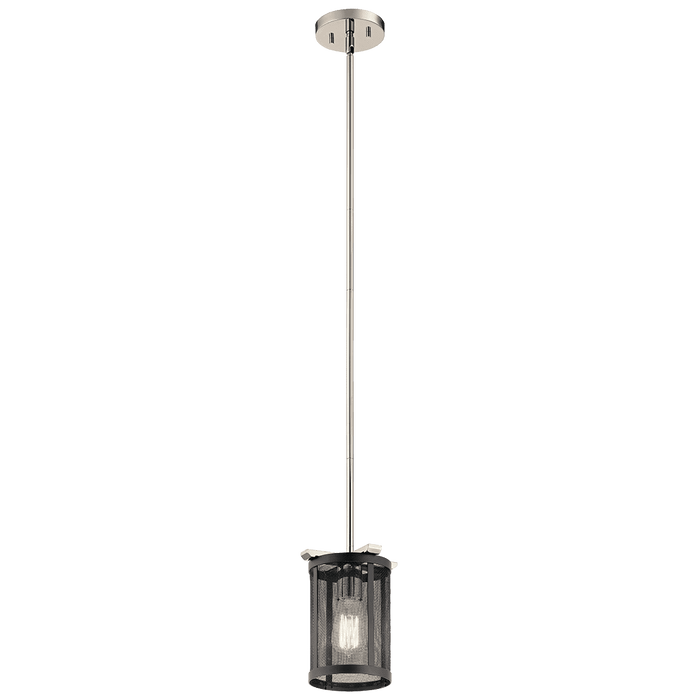Titus Mini Pendant 1 Light - Polished Nickel