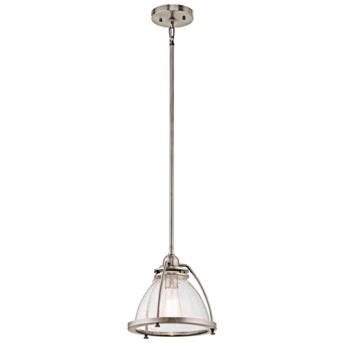 Silberne Pendant 1 Light - Classic Pewter