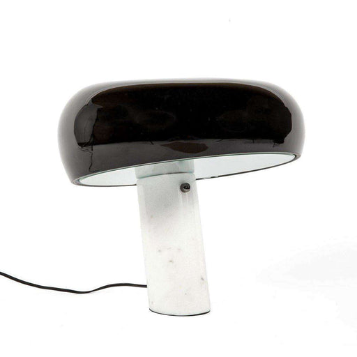 Mid-Century Modern Reproduction Snoopy Table Lamp Inspired by Achille Castiglioni