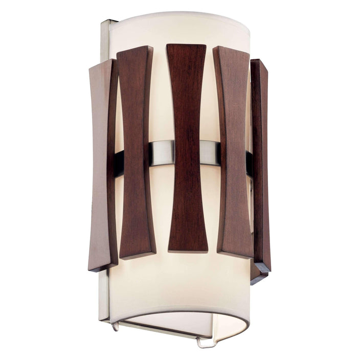 Cirus Wall Sconce 2 Light - Auburn Stained Finish