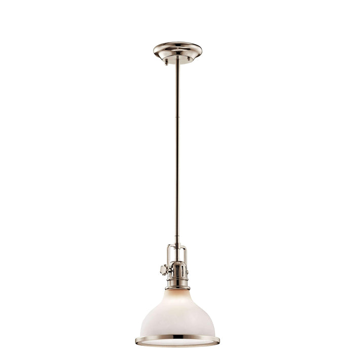 Hatteras Bay Etched Glass Pendant Collection
