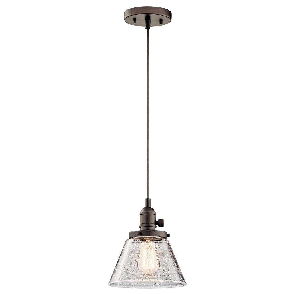 Avery Mini Pendant 1 Light - Olde Bronze
