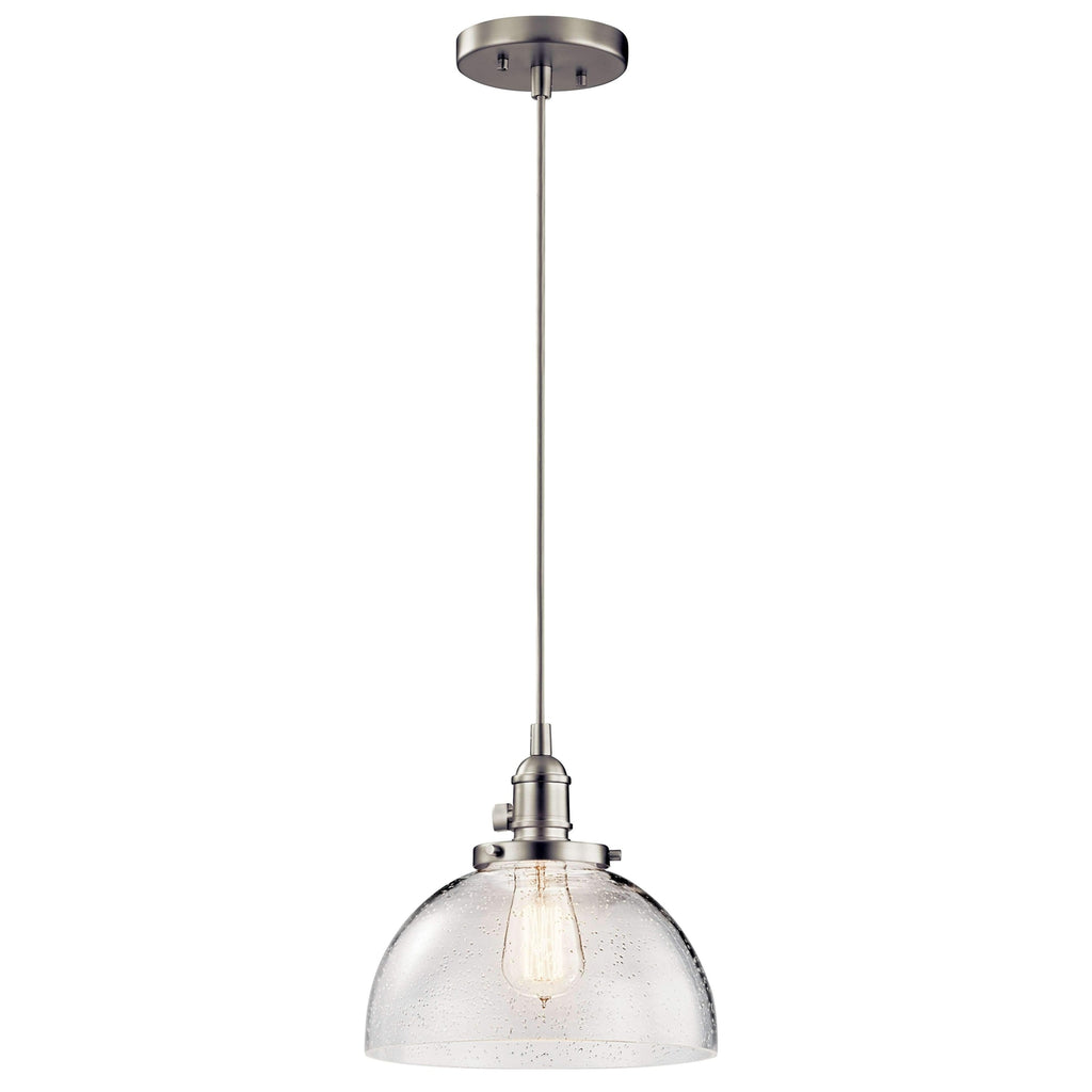 Avery Mini Pendant 1 Light - Brushed Nickel