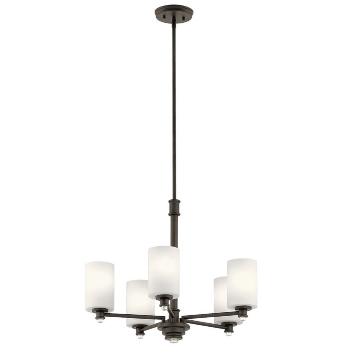 Joelson Chandelier 5 Light - Olde Bronze