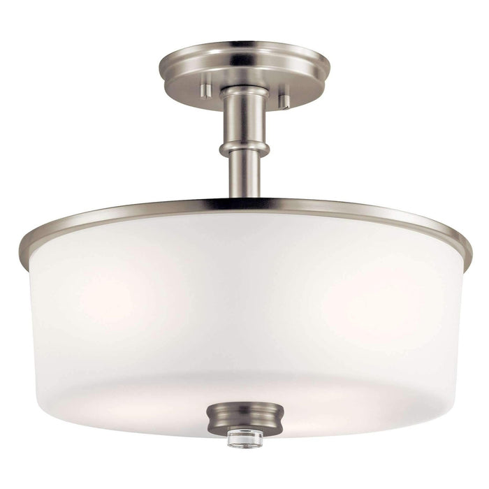 Joelson Semi Flush 3 Light - Brushed Nickel