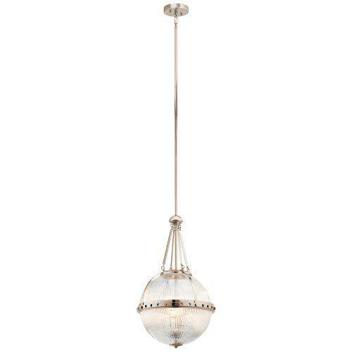 Aster Pendant 3 Light - Polished Nickel