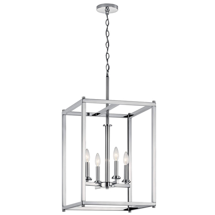 Crosby Foyer Pendant 4 Light - Chrome