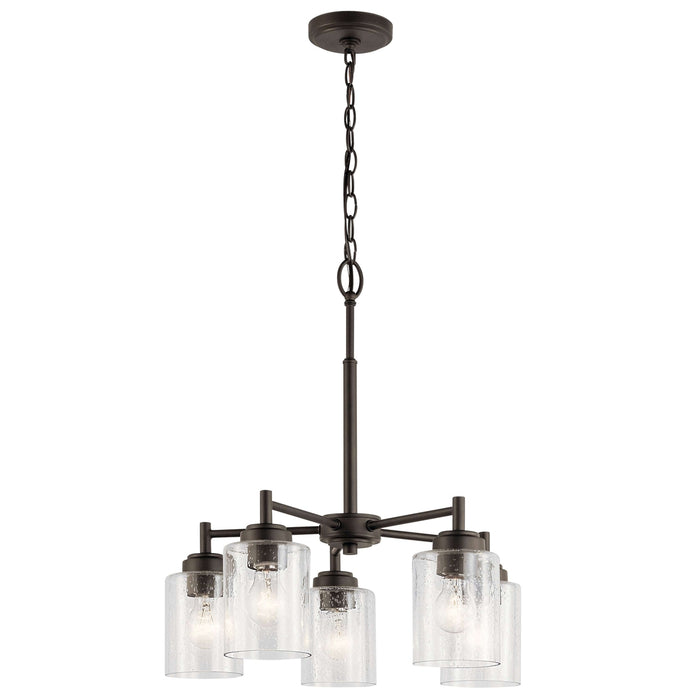Winslow Chandelier 5 Light - Olde Bronze