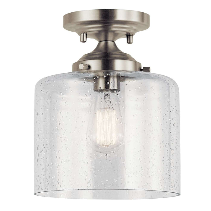 Winslow Semi Flush 1 Light - Brushed Nickel