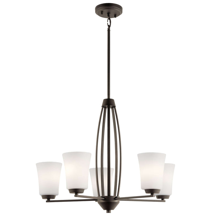 Tao Chandelier 5 Light - Olde Bronze
