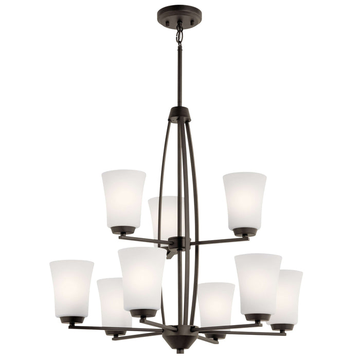 Tao Chandelier 9 Light - Olde Bronze