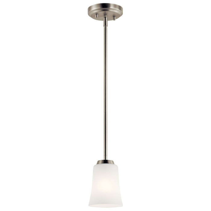 Tao Mini Pendant 1 Light - Brushed Nickel