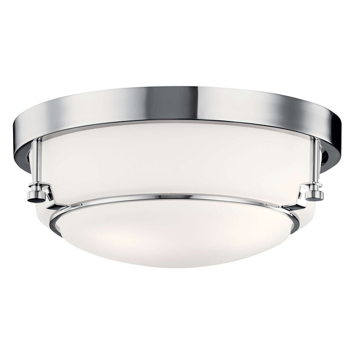 Belmont Flush Mount 2 Light - Chrome